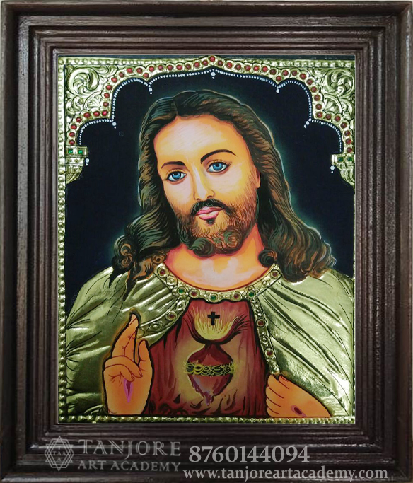 jesus tanjore painiting online