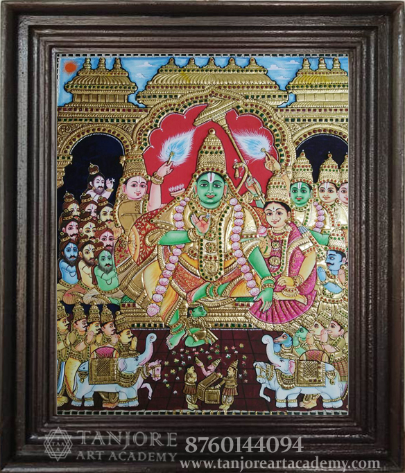 online tanjore painting
