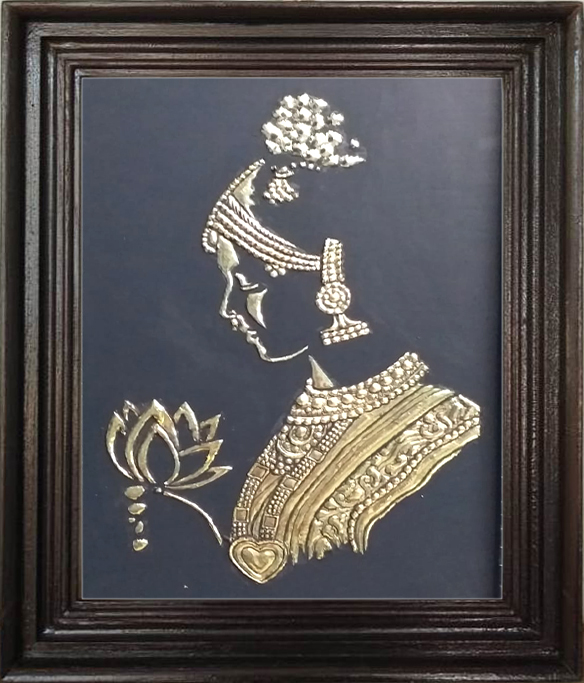 Thanjavur golden painting ,painting gallery
