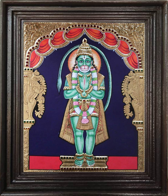 Hanuman Tanjore Painting purchase online