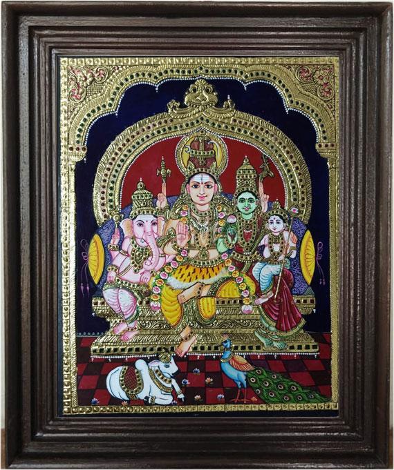 Sivan-parvathi-&-family--Ta