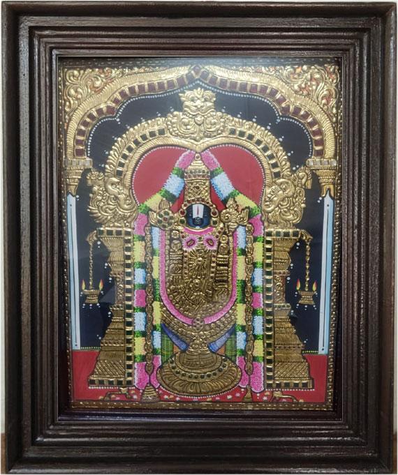balaji-tanjore-art-painting