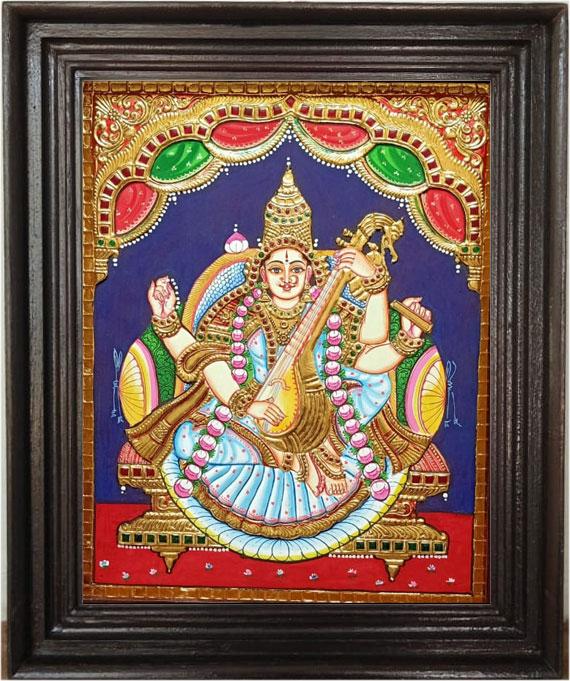 saraswathi-painting-online-
